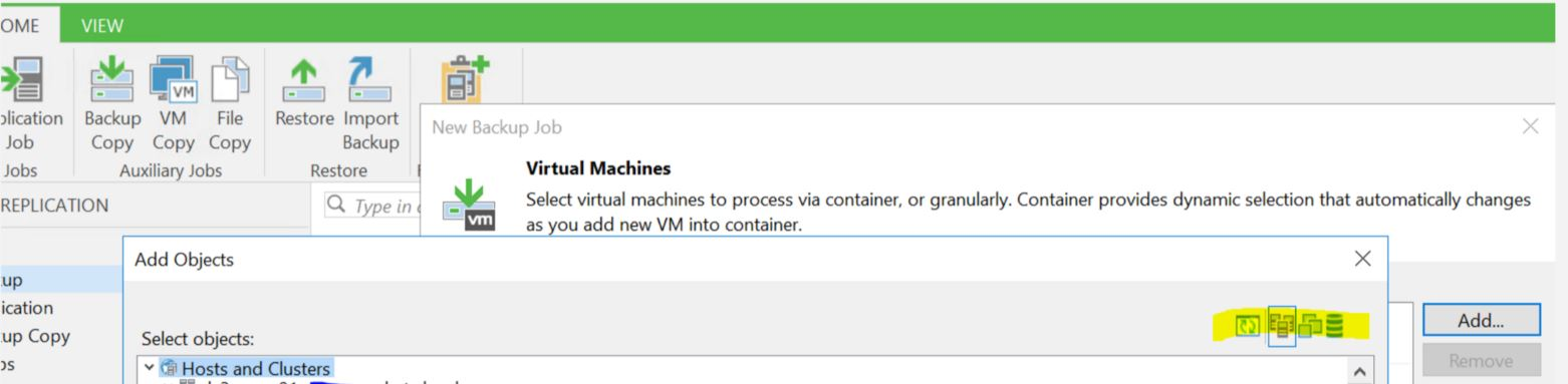 Missing vSphere tags from Veeam Console UI - rhyshammond com