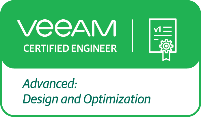 Veeam Certified Engineer: ADO